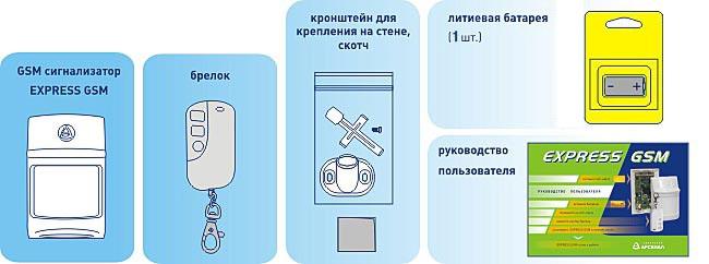 сигнализация экспресс Gsm 2 инструкция - фото 7